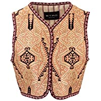 ETRO Luxury Fashion Womens 1363316200650 Multicolor Vest |