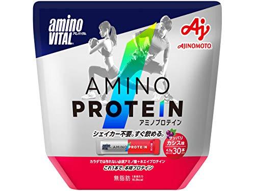 「アミノバイタル」アミノプロテイン カシス味 30本入パウチ