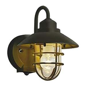 コイズミ照明 LED防雨型ブラケットタイマー付ON-OFFタイプ(白熱球60W相当)電球色 AU38410L