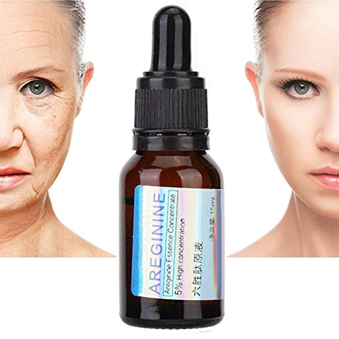 大混乱買う名前しわ血清、顔と体のマッサージのためのエッセンシャルオイルに濃縮された15mlの治療用保湿剤、顔の引き締め治療