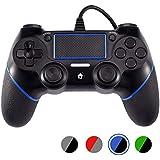 PS4有線コントローラー Astarry ゲームパッド DualShock 4、プレイステーション4用デュアルバイブレーションゲームパッドコントローラプレイステーション3とウィンドウズ