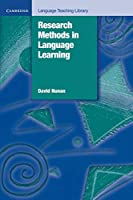 Research Methods in Language Learning (Cambridge Language Teaching Library)