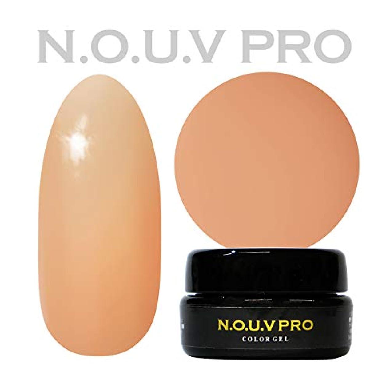 またね労働変動するNOUV Pro ノーヴプロ ジェルネイル カラージェル G03 ピーチーベージュ 4g