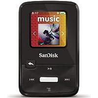 サンディスク Sansa Clip Zip 8 GB MP3 Player (Black) - SDMX22-008G-A57K