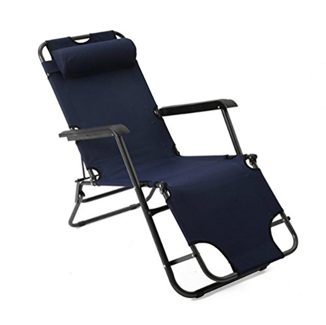 あごひげ余韻アパルHONEI 2Way 枕付き チェア ベッド 折りたたみチェア 折りたたみ式ベッド キャンピングベッド 枕つき アウトドアチェア ゼログラビティ 耐荷重250kg