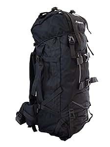 MerMonde (メルモンド) 登山 アウトドア 大型 リュック ザック バックパック 80L (ブラック)