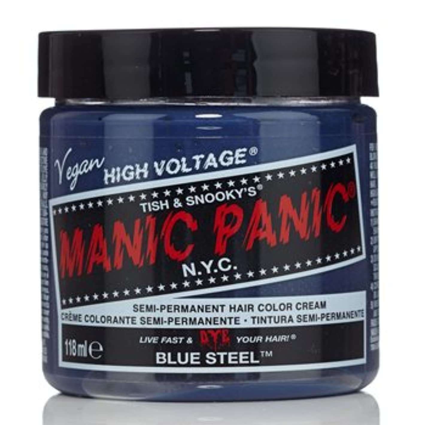スポンサー損なう便益【3個セット】MANIC PANIC マニックパニック ブルースティール MC11052 118ml