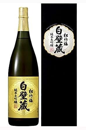 松竹梅 白壁蔵 純米大吟醸 [ 日本酒 兵庫県 1.8L ]