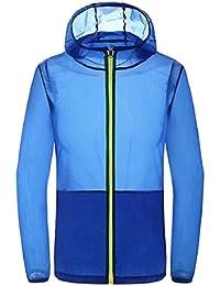 Sodossny-JP 男性のスキンコート固体太陽保護アウトドアジャケット