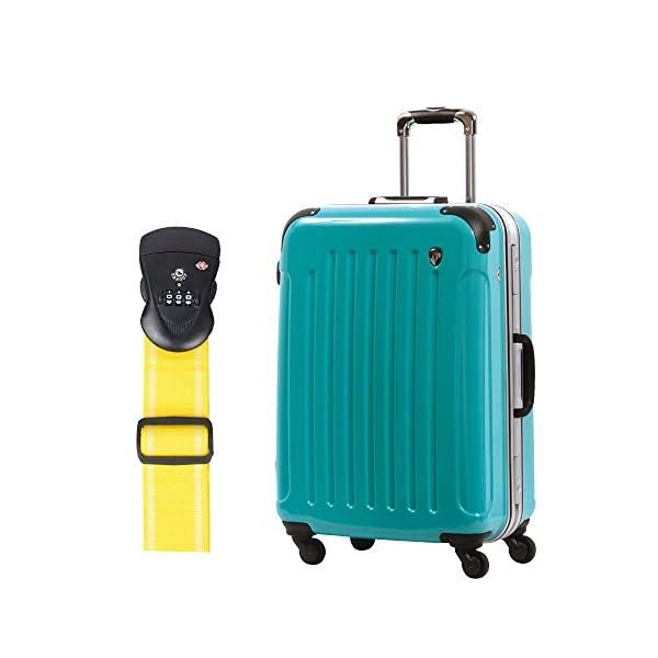S型 ナイルグリーン +TSAベルト【イエロー】...の商品画像