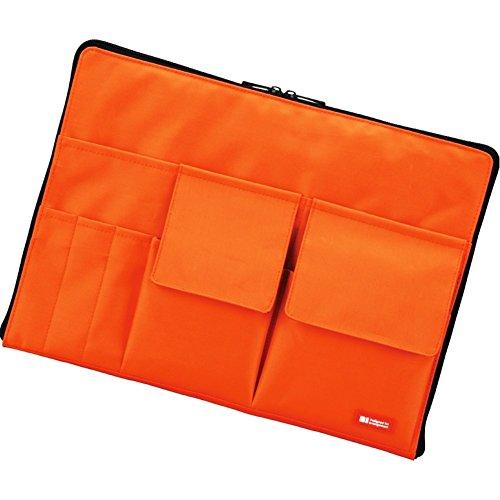 バッグインバッグ A4【橙】 A7554-4 02 リヒトラブ