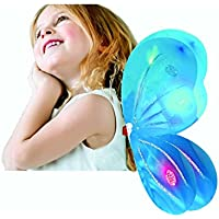 [GlitZGlam]GlitZGlam Butterfly Wing / Fairy Wing Costume for Glow in the Dark Turquoise Butterfly Wings Turquoise [並行輸入品]