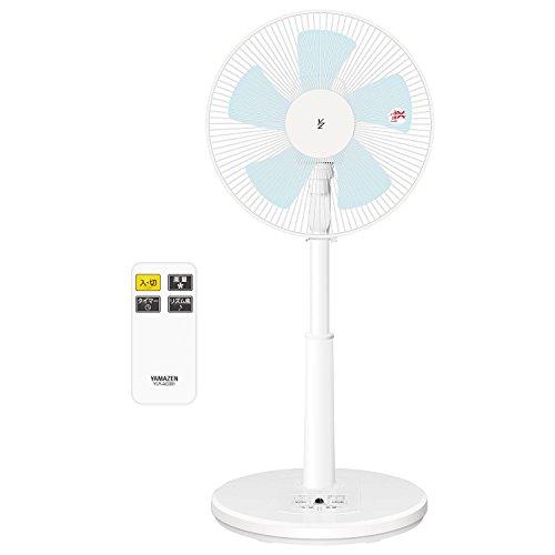 山善(YAMAZEN) 30cmリビング扇風機 (リモコン)(風量3段階) タイマー付 ホワイト YLR-AG301(W)