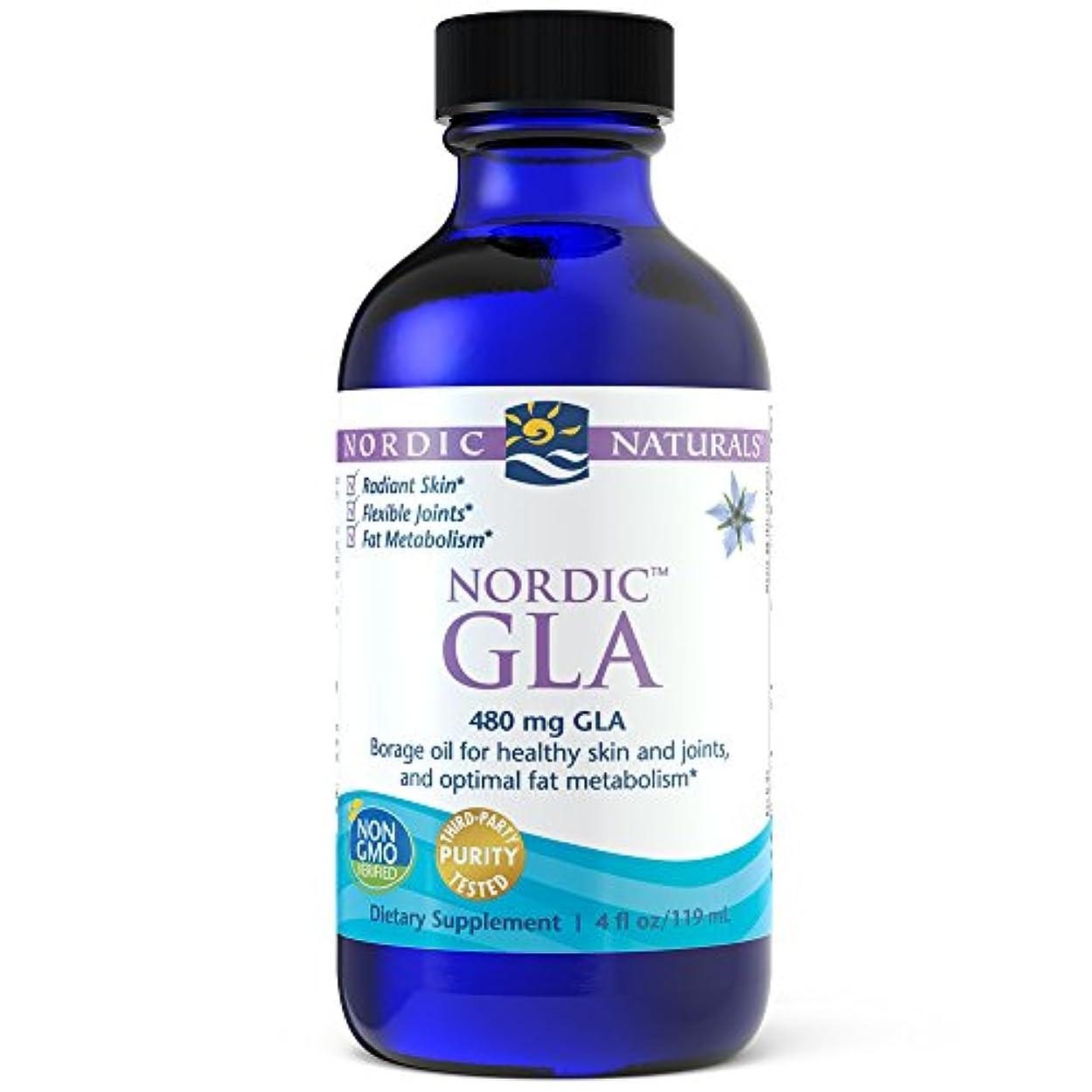 リンケージ典型的な喜んでNordic Naturals ノルディック GLA アンフレーバー 4 オンス