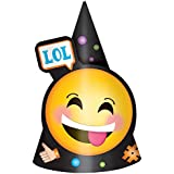 LOL Emojis Paper Party Hats (8 ct)