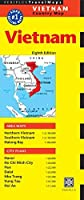 Vietnam Travel Map Eighth Edition (Periplus Travel Maps Country Map) by Unknown(2014-05-27)
