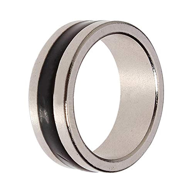 ZAYAR 磁気付き指輪 強力マグネットリング Magnetic Engraved Cambered PK Ring 舞台近景マジック道具 磁気アイテム 内径20mm