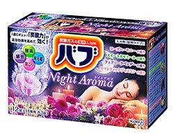 花王 バブ ナイトアロマ 12錠(医薬部外品)