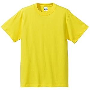 (ユナイテッドアスレ)UnitedAthle 5.6オンス ハイクオリティー Tシャツ 500101 021 イエロー M