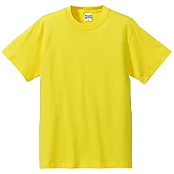 (ユナイテッドアスレ)UnitedAthle 5.6オンス ハイクオリティー Tシャツ 500101 021 イエロー L