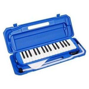 カラフル32鍵盤ハーモニカ♪ MELODY PIANO 【P3001-32K】♪ ピアニカ ♪ ブル...