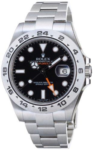 [ロレックス]ROLEX エクスプローラー2 GMT ブラッ...