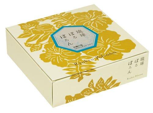 琉球ぽるぼろん 沖縄の塩味 10個入 ×20箱 くがに菓子本店 ミネラル豊富な粟国の塩使用。 甘さと塩っぱさが相まり、さっぱりとした味わいの焼き菓子