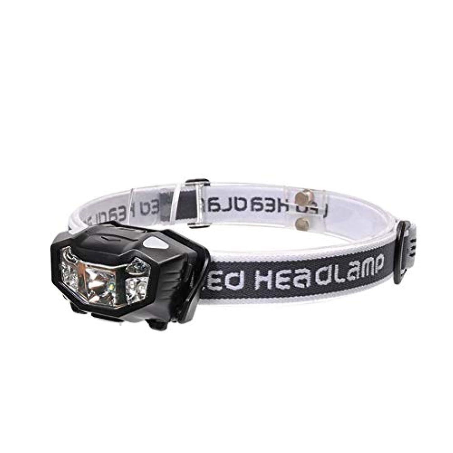 泥沼化合物状トーチヘッドライト 屋外スポーツ用ヘッドライト、軽量で快適なヘッドマウント懐中電灯、内蔵のリチウム電池ヘッドライト、充電用ヘッドライト、照明用ヘッドライト トーチヘッドライト