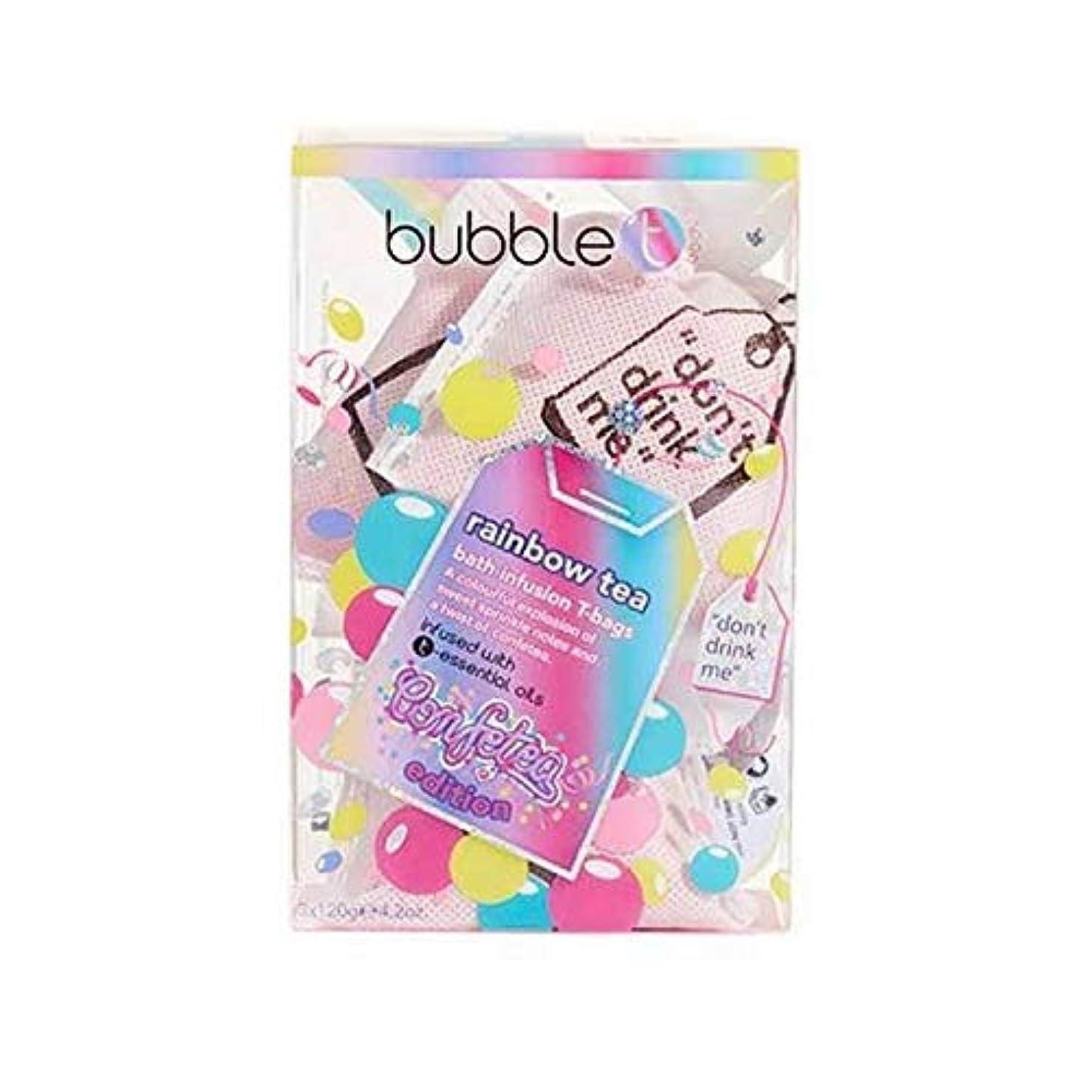 南アメリカバックグラウンド目に見える[Bubble T ] バブルトンの化粧品 - 入浴輸液ティーバッグ虹のお茶 - Bubble T Cosmetics - Bath infusion tea bags Rainbow tea [並行輸入品]