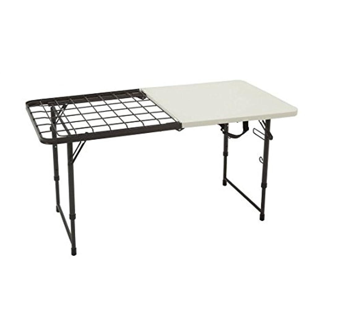 誘導測るいじめっ子Lifetime 4' Fold-In-Half Cooking Table by Lifetime Products