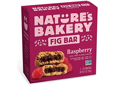 Nature's Bakery Raspberry Fig ネイチャーズベーカリーラズベリーフィグバー340g [並行輸入品]