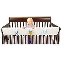 Leachco Easy Teether XL - Crib Rail Cover For Convertible Cribs - White