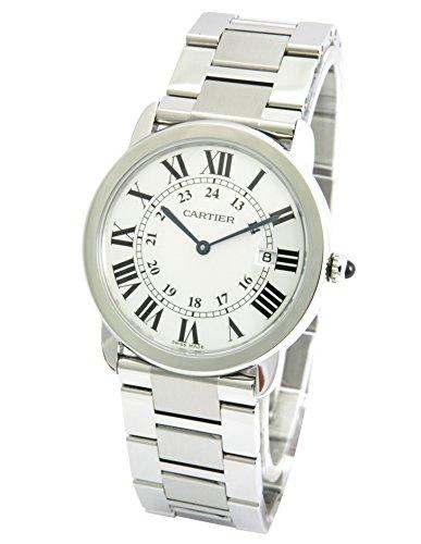 [カルティエ]CARTIER 腕時計 ロンドソロ シルバー LM W6701005 メンズ 【並行輸入品】