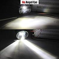 AL インフィニティ EX EX25 EX35 EX37 4000LM LED バルブ H11 フォグ ランプ キット DRL 12V 2008 2009 2010 2011 2012 2013 No Angel Eye AL-BB-1707-T001
