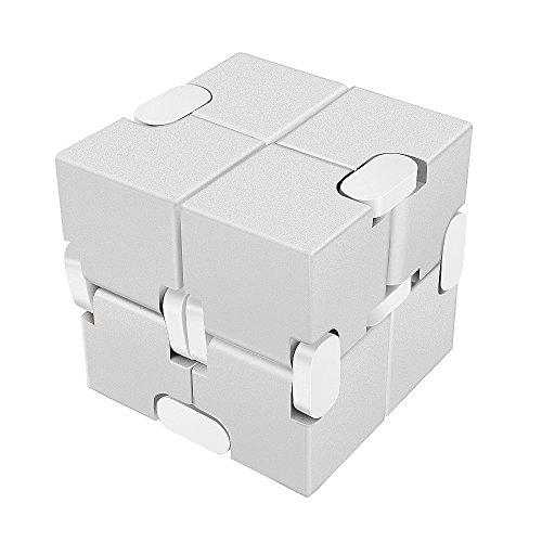 Lilbit Infinity Cube インフィニティキューブ 無限キューブ アルミニウム合金 (銀)