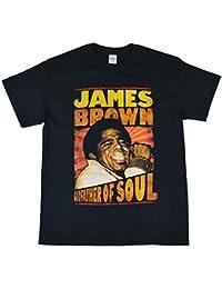 JAMES BROWN ジェームスブラウン Godfather Of Soul Tシャツ ブラック