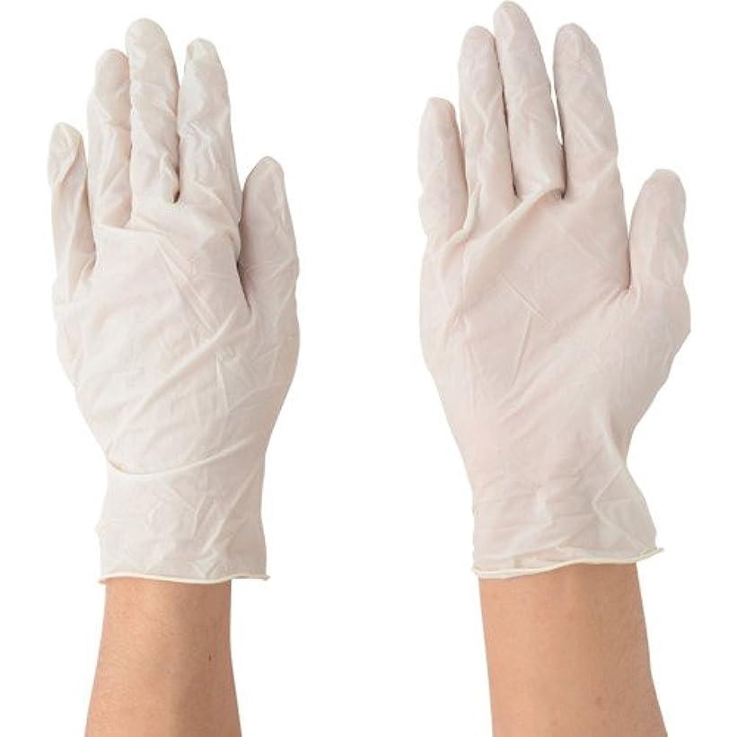 ポイント打たれたトラック犯罪川西工業 天然ゴム極薄手袋 粉付 100枚入 #2031 ナチュラル L