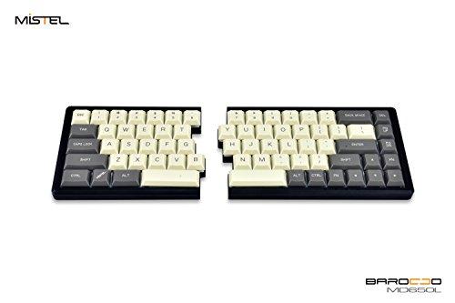 Mistel BAROCCO MD650L 分離式 メカニカルキーボード 英語配列 Cherry ML Switch ML1A 採用 アイボリー/グ...