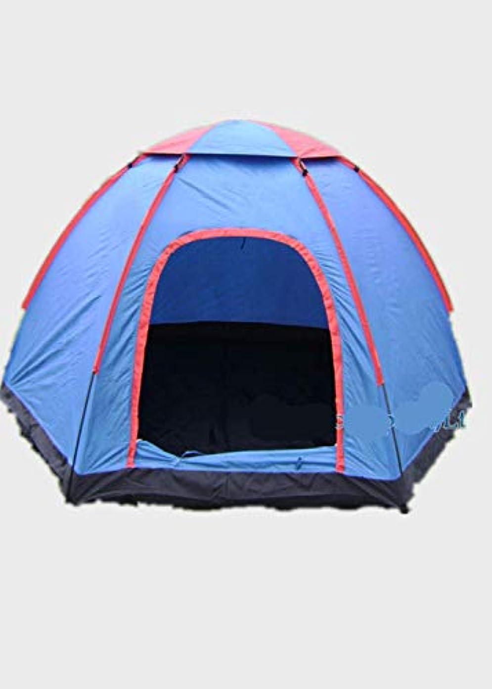 悪意のある姿を消すアルコーブ自動六角形の大きいテントキャンプのキャンプテント屋外の防水テント