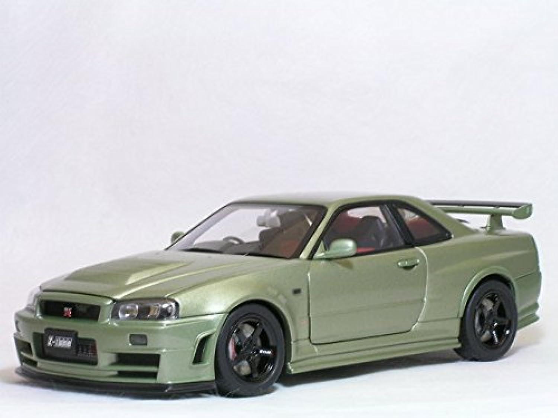 1/18 スカイライン GT-R (R34) 〓ニスモ Z-Tune / Millennium Jade〓