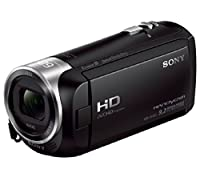 Sony HDR-CX405/B 9.2MP Video Recording Camcorder with 29.8mm Wide-Angle Carl Zeiss Zoom Lens (Black) by Focus Camera