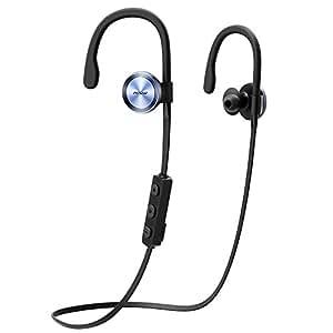 Mpow Goshawk Bluetooth4.1 スポーツイヤホン ワイヤレス耳掛け式 ヘッドセット 防汗仕様 ノイズ低減の仕組み iPhone&Android スマートフォンに対応