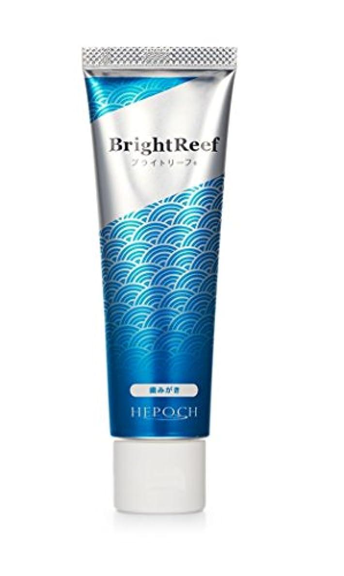 シート憂鬱めんどりブライトリーフ 歯磨き粉 化石サンゴ由来ヒドロキシアパタイト配合ブライトニング歯磨き粉