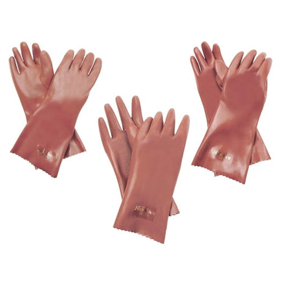 ちょうつがい中止します書き込み耐油手袋 ハナローブ NO.176??????????????(23-2947-03)