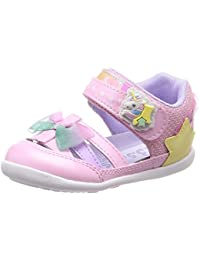 [キャロット] サマーシューズ ベビー 靴 マジック 足に優しい 足育 ゆったり CR B103