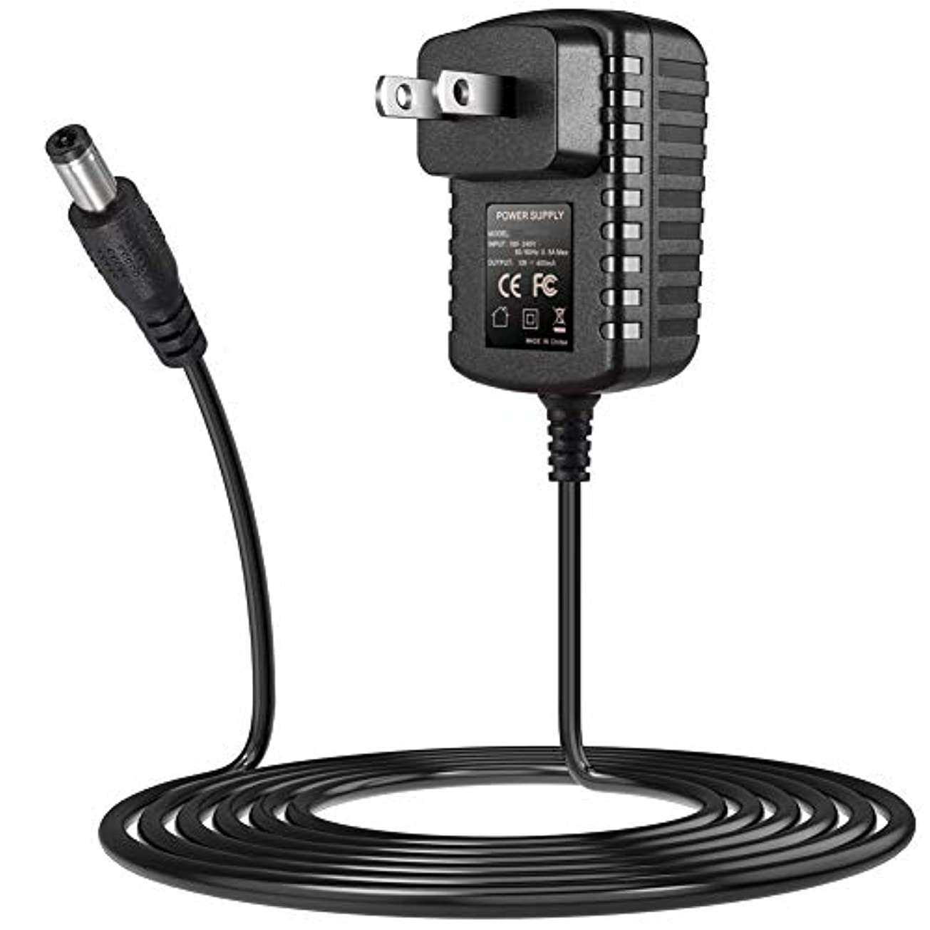 太字クルーズセレナPunasi Philips フィリップス対応 脱毛器 ACアダプター DCアダプター 13V 0.4A電源アダプター交換用充電器 Norelco Satinelle Electric Epilator HP6401など対応