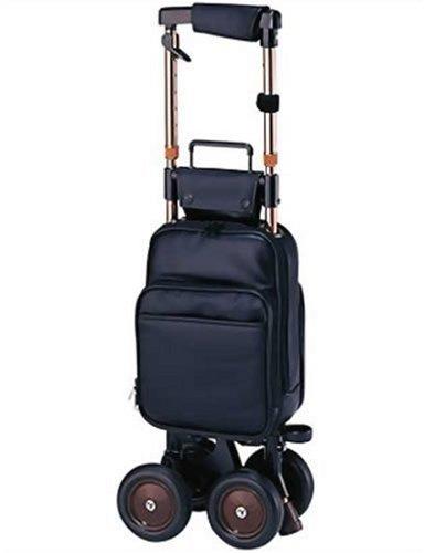 象印ベビー キャリーステッキ・ライト168 (黒) 本体重量:2.1㎏ 袋容量:9L キャリーシリーズ ショッピングカー