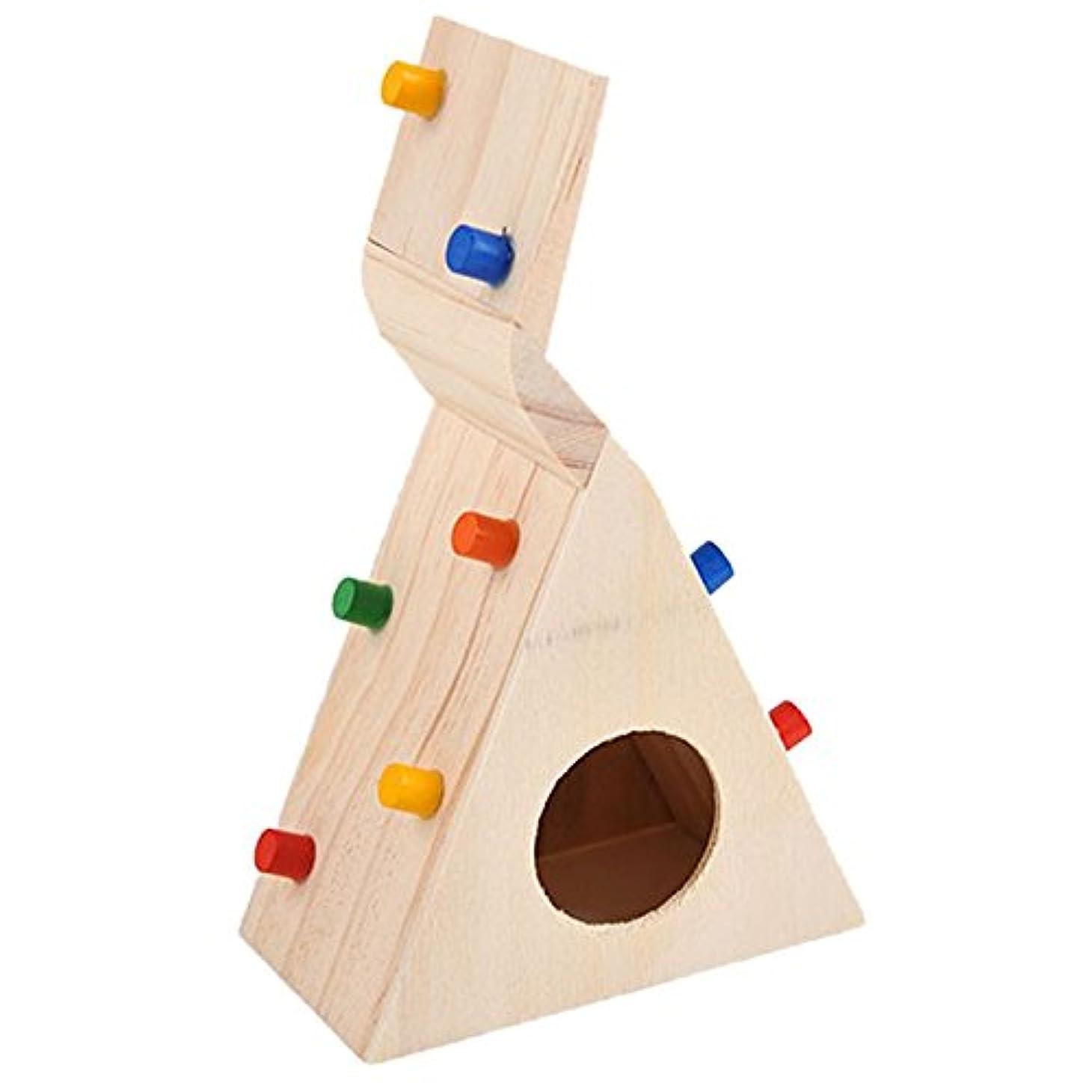 雷雨社会主義者記事RETYLY 小さなペット?ハムスター用のアクセサリー クライミング梯子 小さなラット、スナネズミ、ハムスター玩具 ペットのコスチューム店 ハムスターのおもちゃ