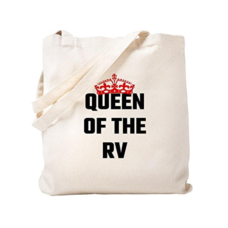 CafePress – Queen of the RV – ナチュラルキャンバストートバッグ、布ショッピングバッグ S ベージュ 1671399066DECC2