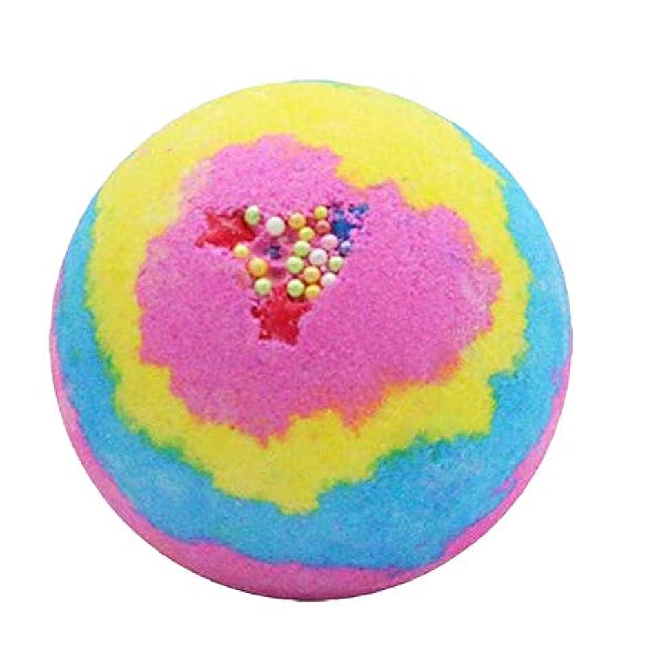 浴シャンプー気づくなるTOOGOO レインボー ローズ入浴ボムズボール、スパ 誕生日プレゼント 潤いを与えます 女性のため、彼女のためのバスボムギフト
